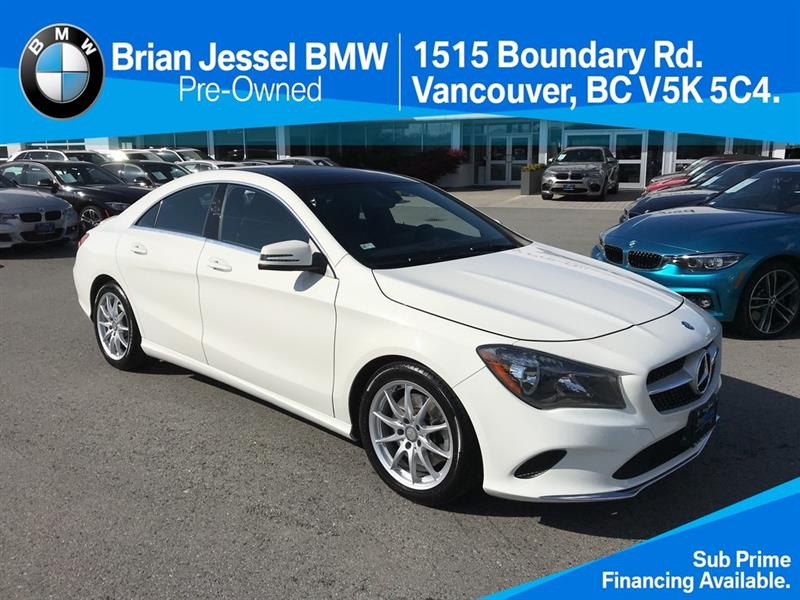 2017 Mercedes-Benz CLA250 4MATIC Coupe #BPS054