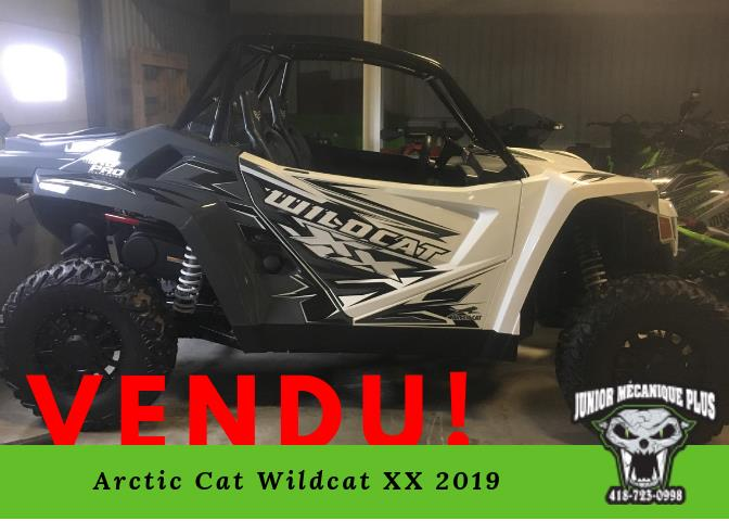 Arctic Cat Wildcat X 2019