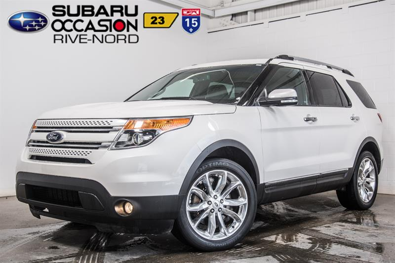 2014 Ford Explorer Limited 4WD CUIR+SIEGES.CHAUFFANTS #J943806