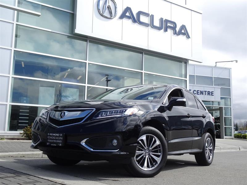 2017 Acura RDX Elite|Acura Certified|Local Car|No Accidents|Fully #937048A