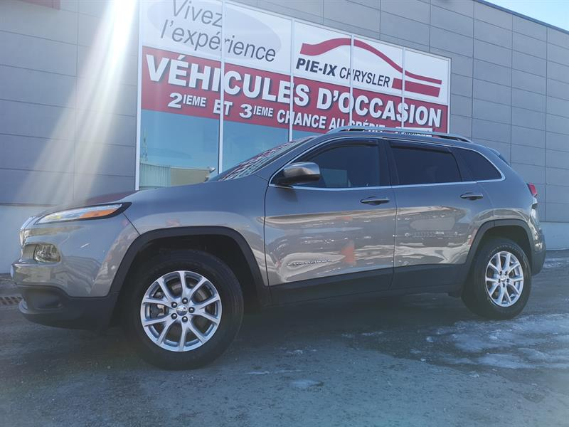 2017 Jeep Cherokee 4WD 4dr North+ V6 mags caméra banc chauffant  #UD5186