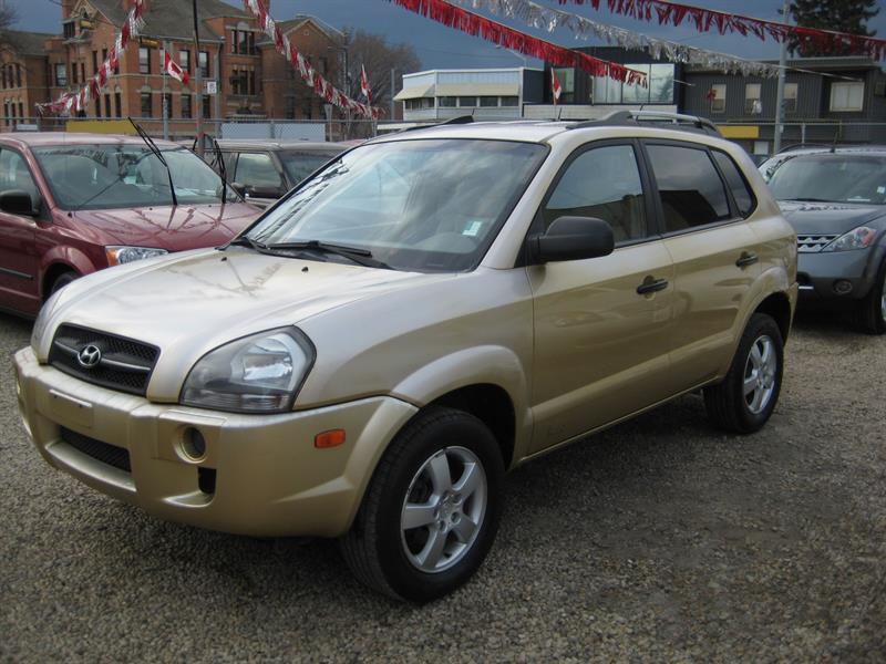 2005 Hyundai Tucson 4dr GL FWD 2.0L #089022