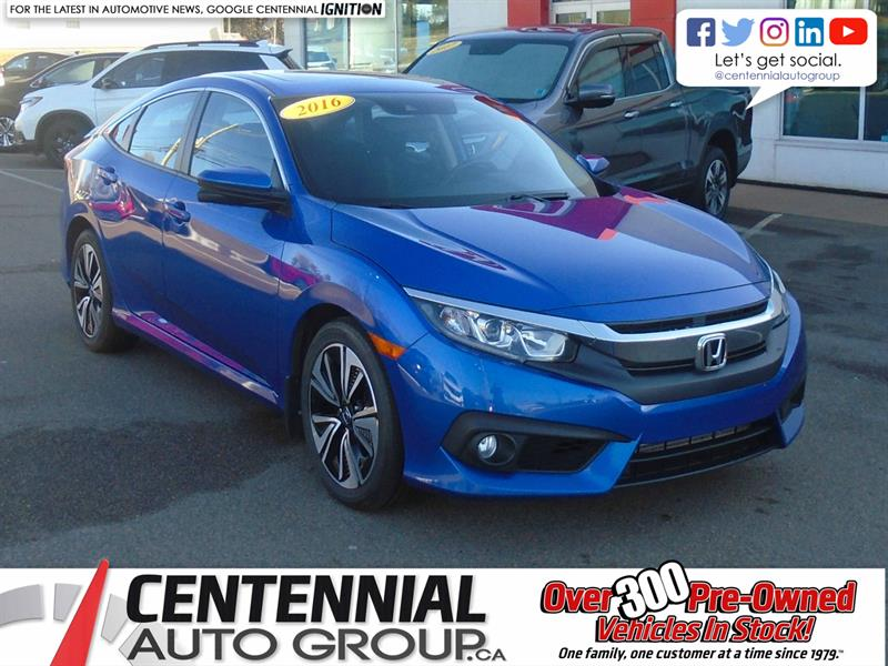 2016 Honda Civic Sedan EX-T | #U1891