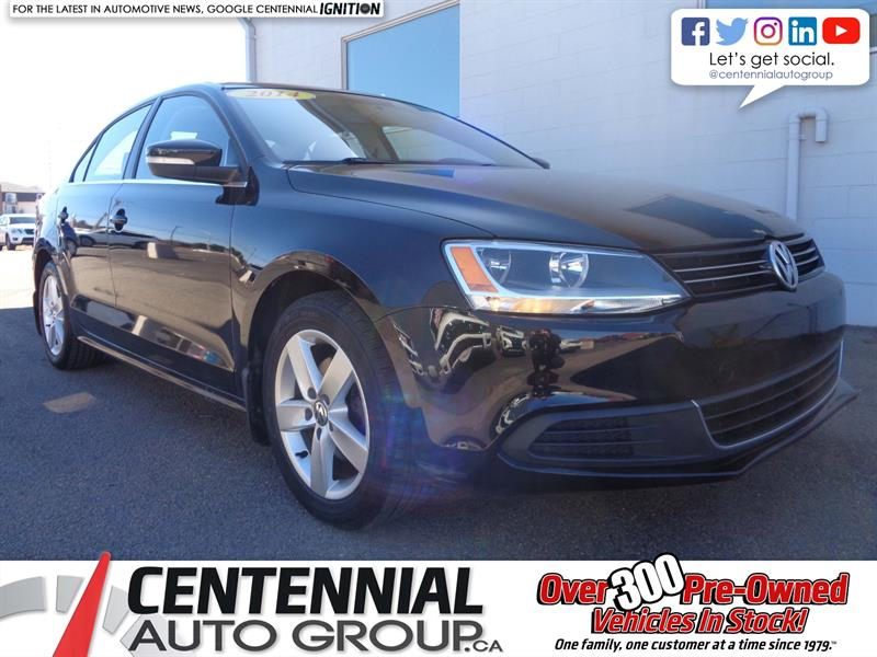2014 Volkswagen Jetta 1.8 TSI Comfortline Bluetooth | Moonroof | Heated Seats #19-111A