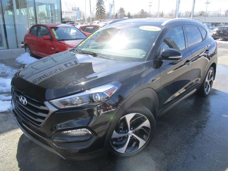 Hyundai Tucson 2016 1.6T TURBO AWD PREMIUM DÉMAR DISTANCE+ #E-0324A