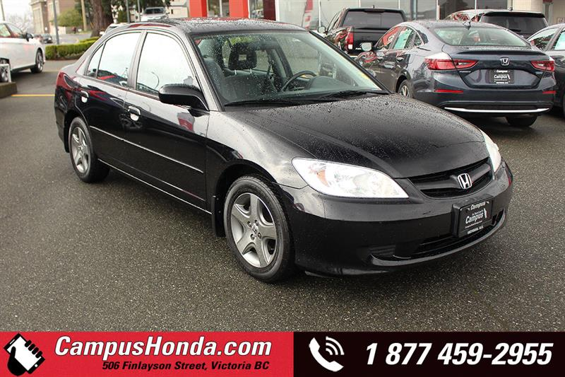 2005 Honda Civic Sdn Si Manual #19-0410A