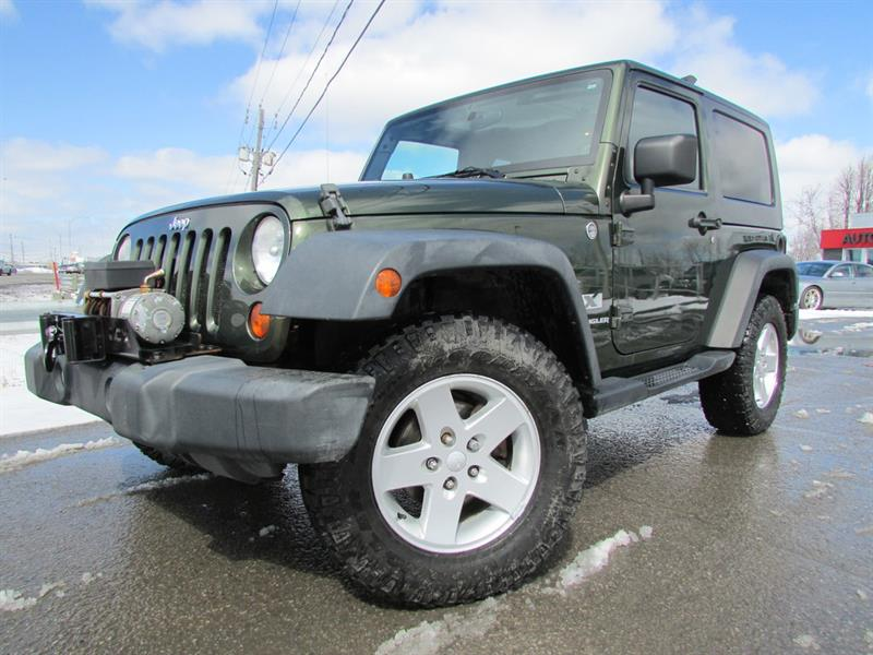 Jeep Wrangler 2007 4WD 2dr X CRUISE MAGS!!! #4368