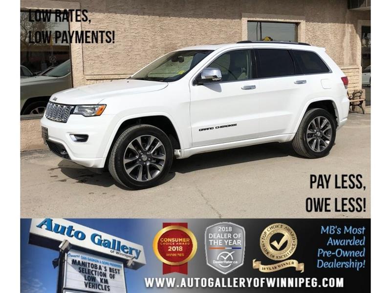 2018 Jeep Grand Cherokee Overland *AWD/Htd Lthr/Navi/Bluetooth/V6 #23812
