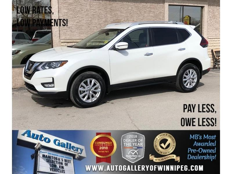 2019 Nissan Rogue SV *AWD/Htd Seats/Bluetooth/Backup Cam #23829