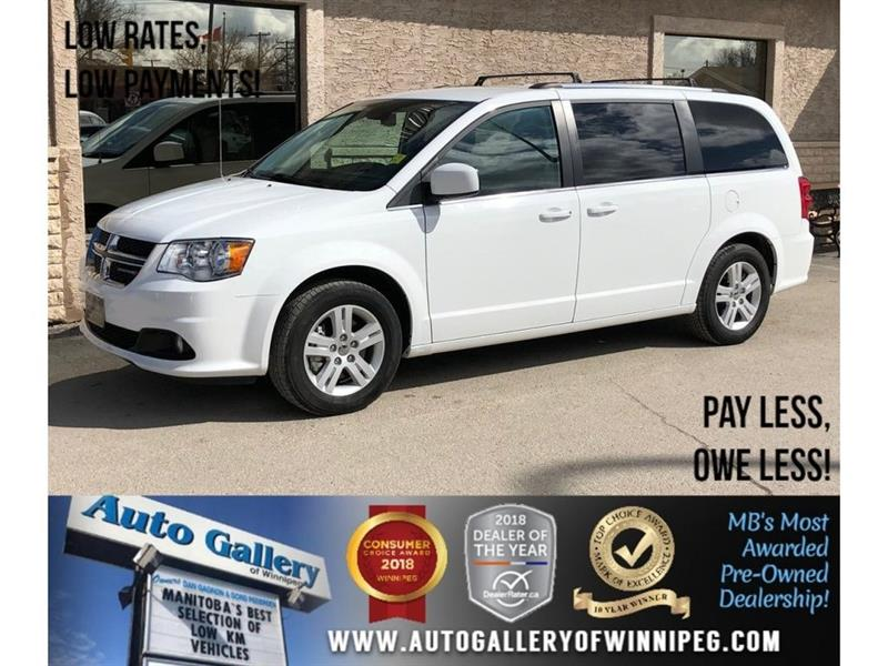 2018 Dodge Grand Caravan Crew Plus *Lthr/Navi/Backup Cam #23836