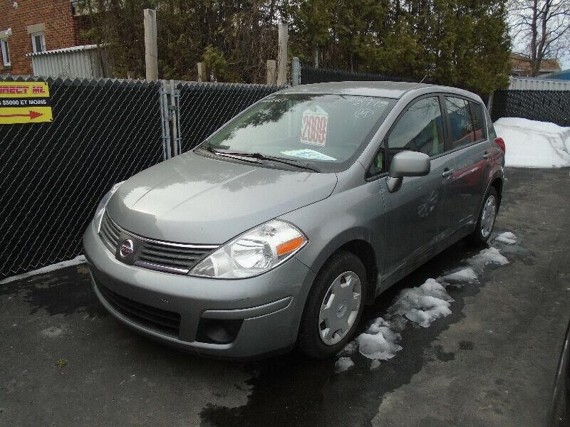 Nissan Versa 2009 HATCHBACK #1419