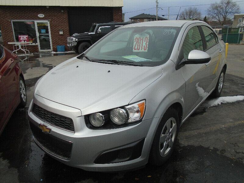 2013 Chevrolet Sonic 4dr Sdn LS Auto #1182