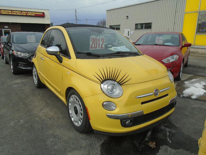 Fiat 500 2012 2dr Conv #97888