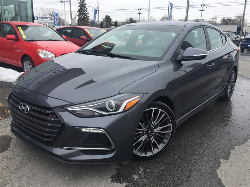 2018 Hyundai Elantra SPORT TECH 1.6T TURBO NAVIGATION+ #E-0334