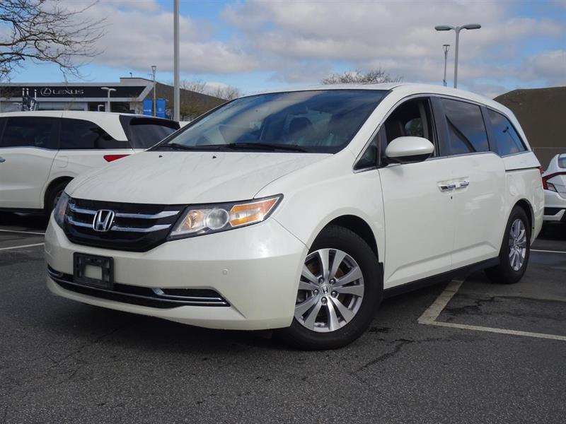 2015 Honda Odyssey EX-L Navi! Honda Certified Extended Warranty to 16 #Y0782A