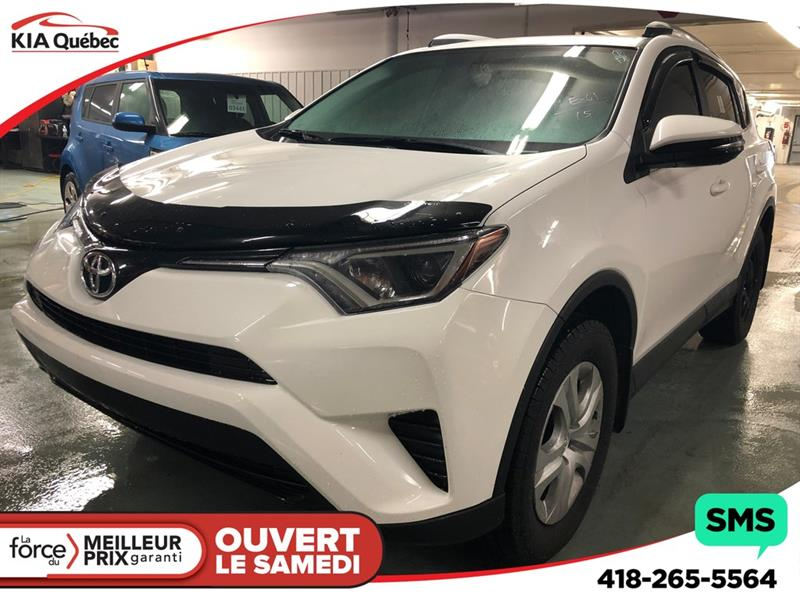 Toyota RAV4 2016 LE* AWD* CRUISE CONTROL* BLUETOOTH* #QU10656
