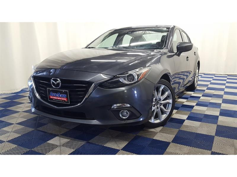 2014 Mazda Mazda3 GT-SKY/htd seats/sunroof/back up cam #J18R167144A
