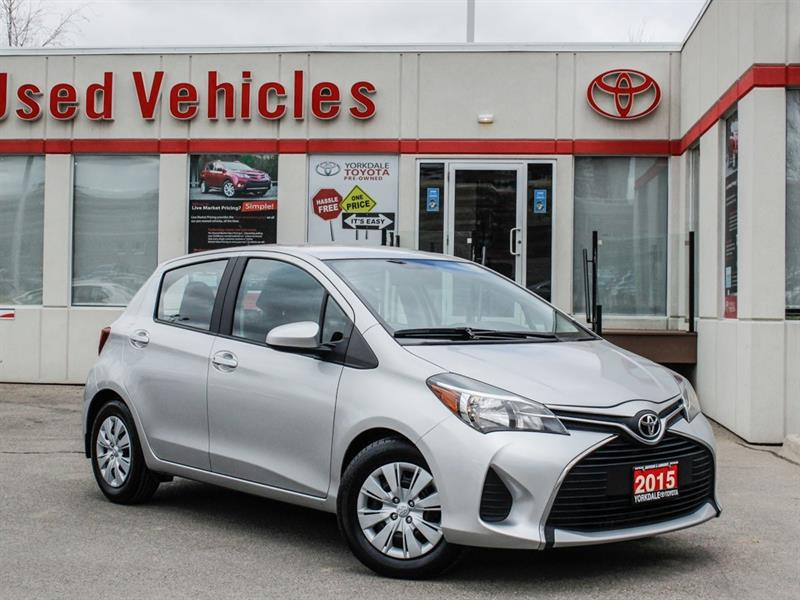 2015 Toyota Yaris LE   Auto   Power Group   Keyless #L7987