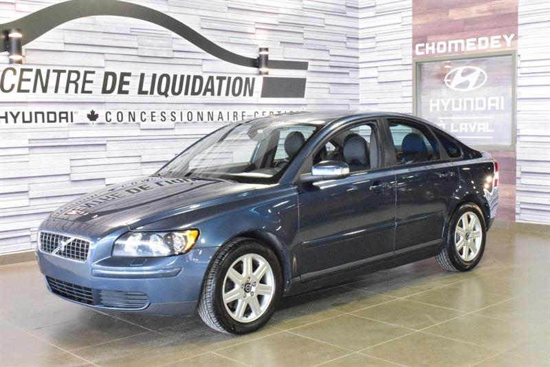 2007 Volvo S40 Toit+mags #s9097A