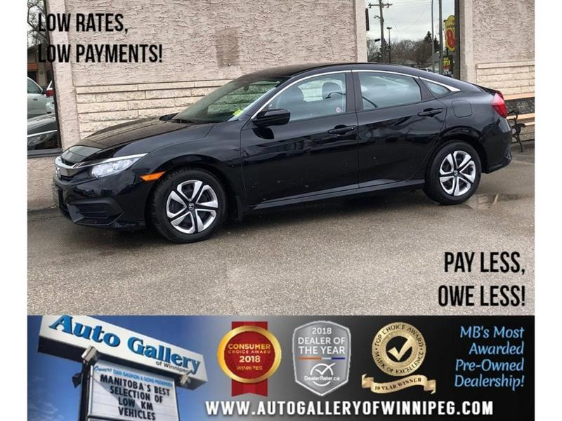 2017 Honda Civic Sedan LX *Htd Seats/Bluetooth/Backup Cam #23797