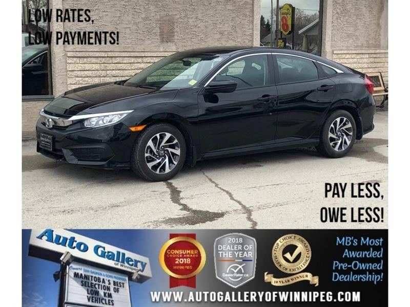 2016 Honda Civic Sedan EX *Htd Seats/Bluetooth/Backup Cam/Roof #23804