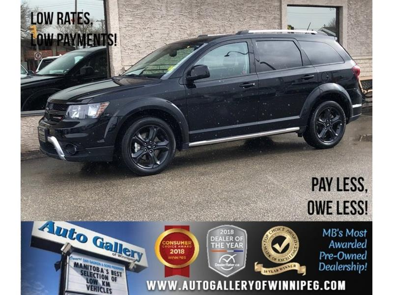2018 Dodge Journey Crossroad *DVD/Lthr/Roof/Navi/Bluetooth #23816