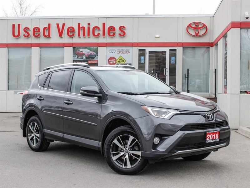 2016 Toyota RAV4 XLE FWD   Sunroof   Alloys   H.Seats   R.Cam #P7957
