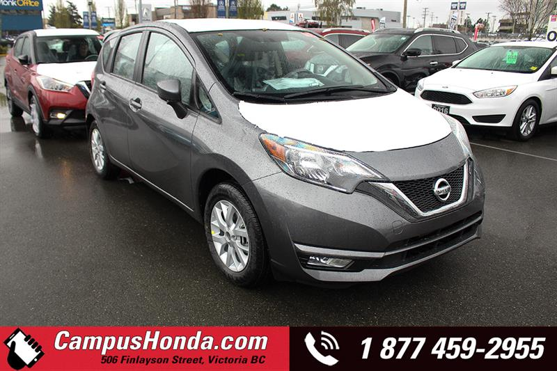 2019 Nissan Versa Note SV FWD w/ Special Edition Pckg #9-B203-NEW
