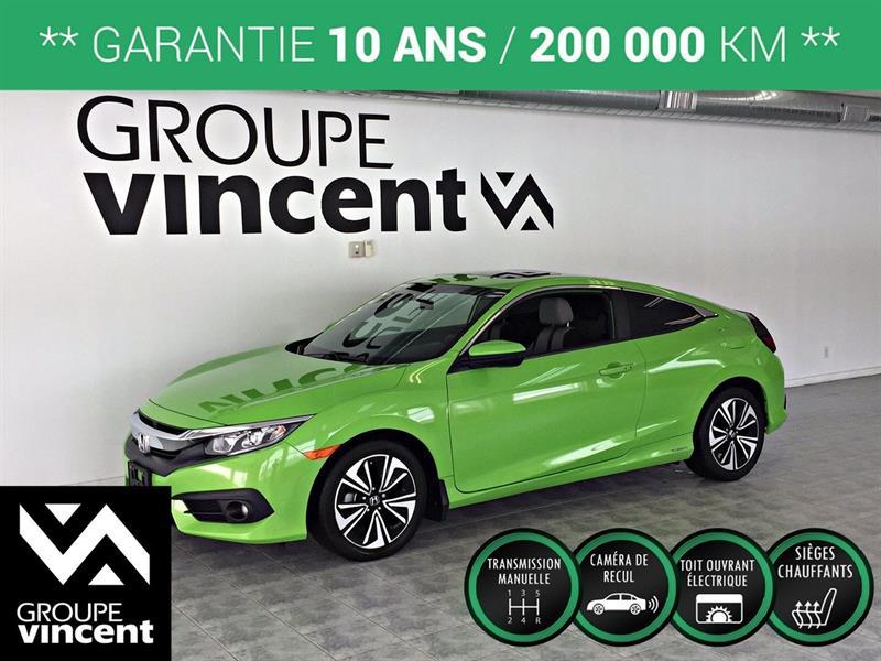 Honda Civic 2017 EX-T COUPÉ **GARANTIE 10 ANS** #K0347H