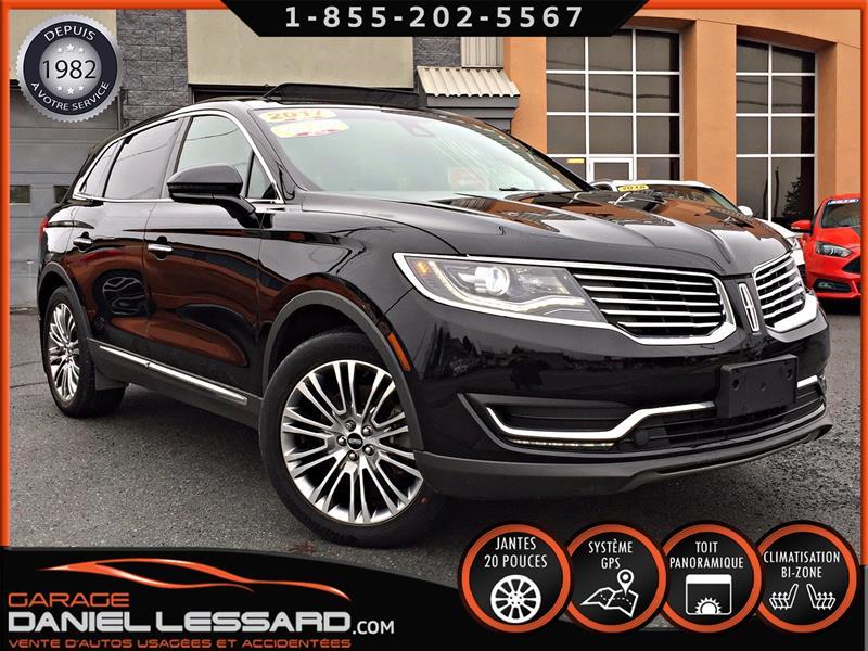 Lincoln MKX 2017 * PAS VGA *,RESERVE, AWD. 3.7 L, TOIT PANO, MAG 20 #79153