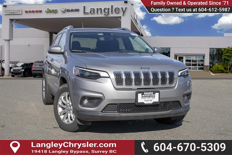 2019 Jeep Cherokee North #K188025