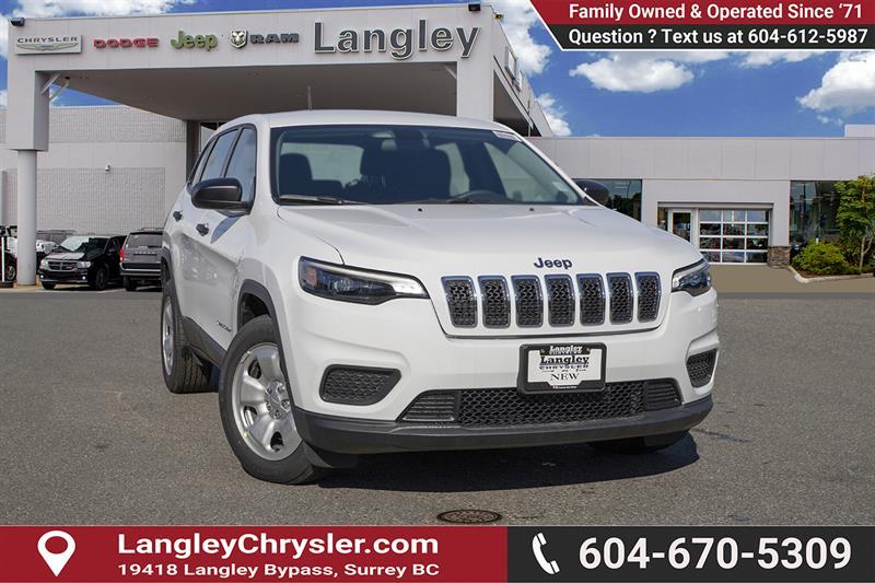 2019 Jeep Cherokee Sport #K393412