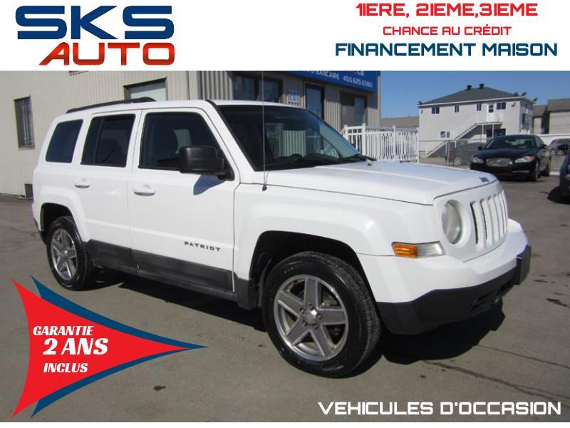 Jeep Patriot 2011 4WD (GARANTIE 2 ANS INCLUS) FINANCEMENT MAISON #SKS-4327-3