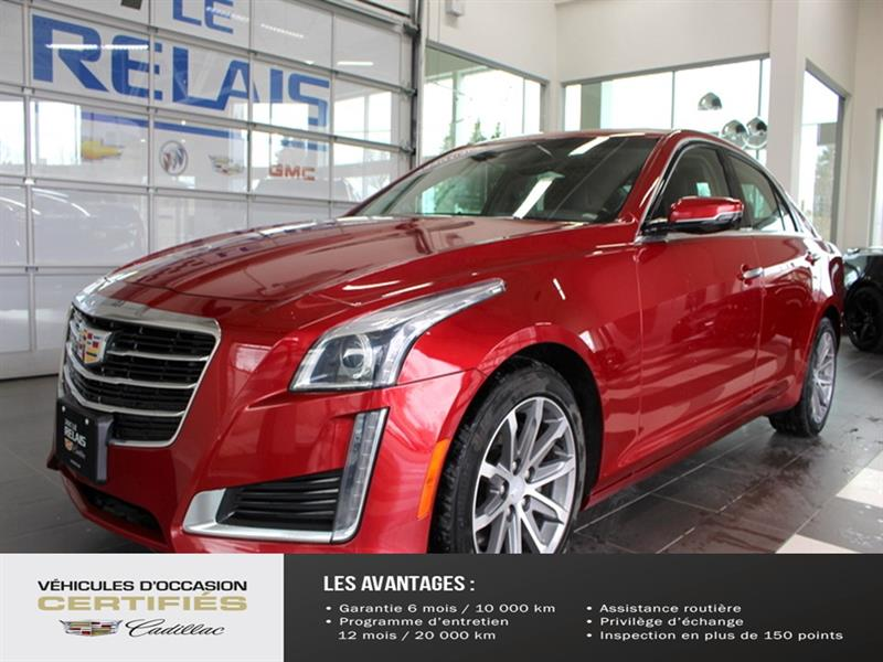 Cadillac CTS Sedan 2016 4dr Sdn 3.6L Luxury Collection AWD #C926510A