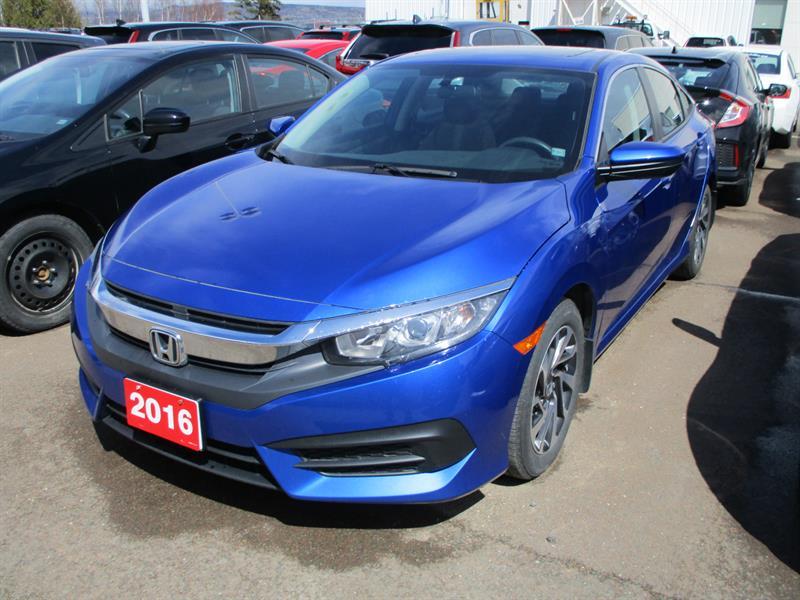 Honda Civic Sedan 2016 4dr CVT EX #GH026130A