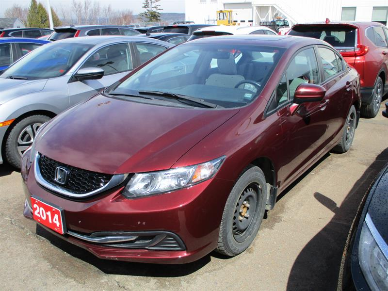 2014 Honda Civic Sedan 4dr CVT EX #EH033200A