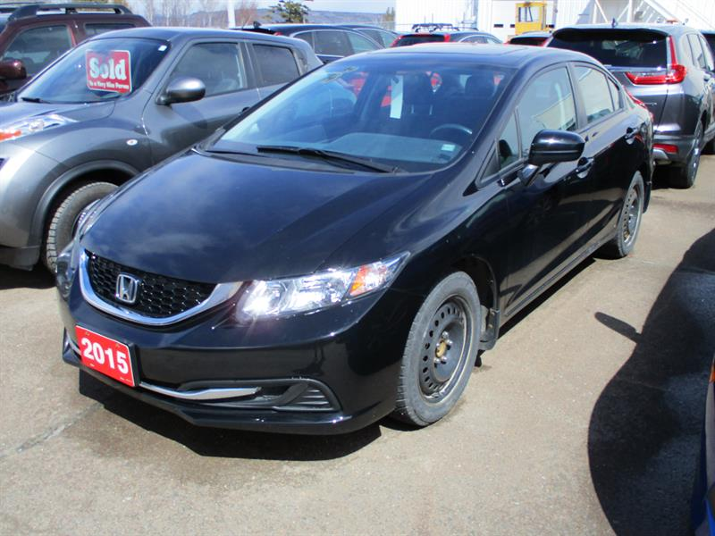 Honda Civic Sedan 2015 4dr Auto EX #FH053704A