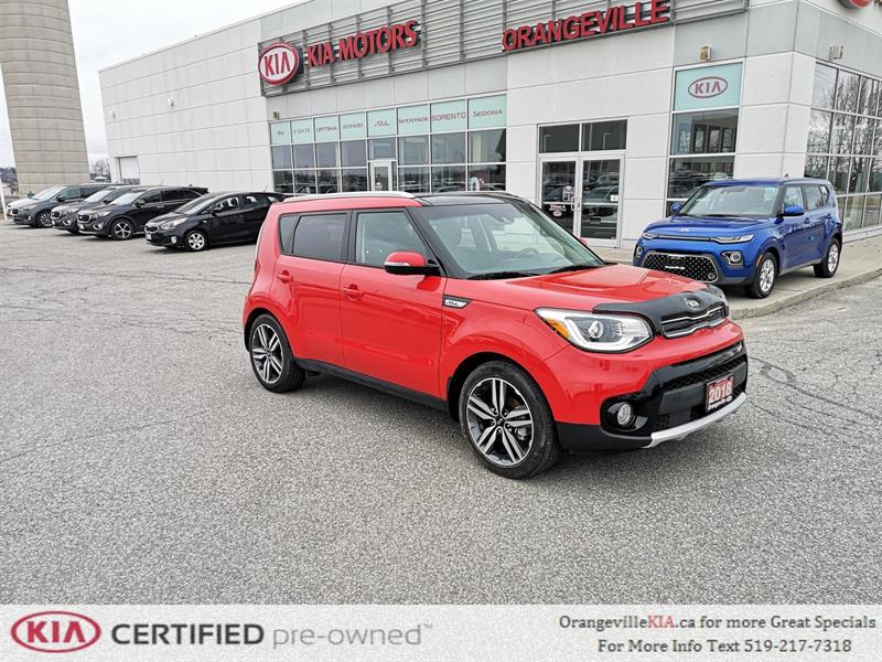 2018 Kia Soul EX Tech Auto - 1-Owner Trade #92030A