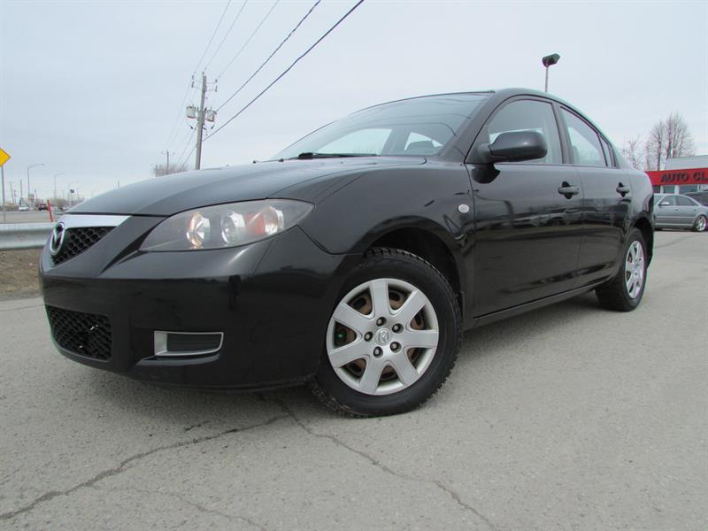 Mazda Mazda3 2008 GX A/C TRES ECONOMIQUE!!! #4358