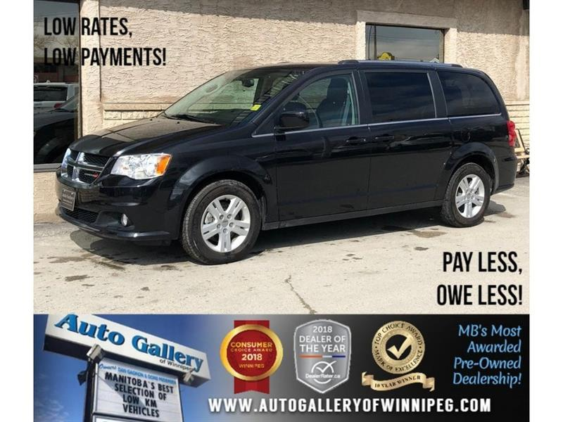 2018 Dodge Grand Caravan Crew Plus *Lthr/Navi/Backup Cam #23837