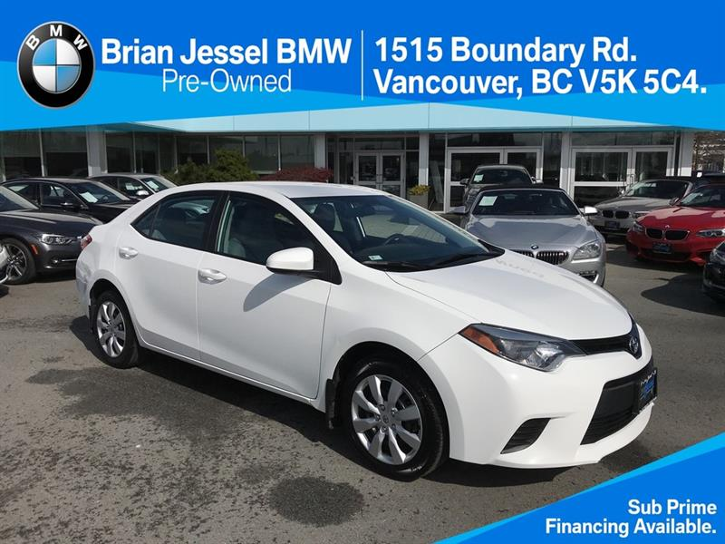 2014 Toyota Corolla 4-door Sedan LE CVTi-S #BP727820