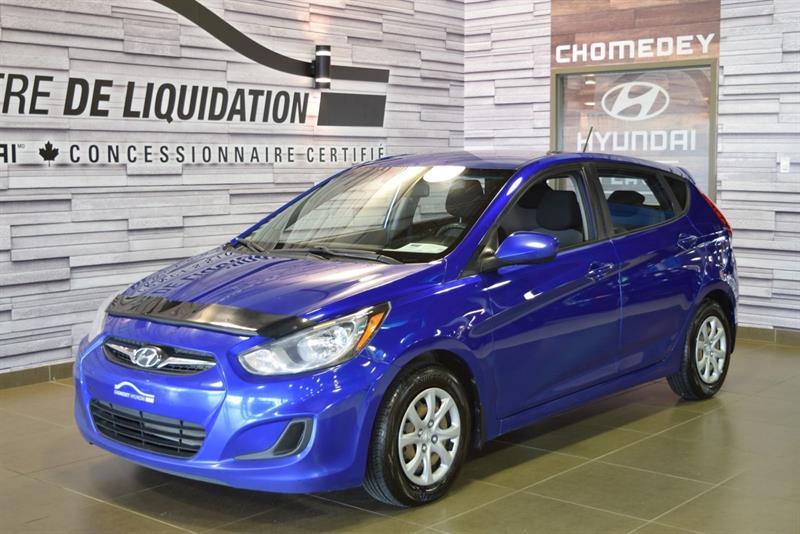 2012 Hyundai Accent GL+GR ELECTRIQUE+AIR CLIM #S9247