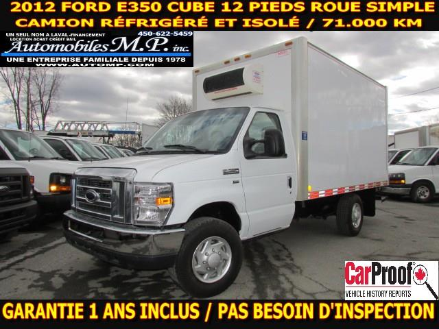 Ford E350 Cube 12 Pieds 2012