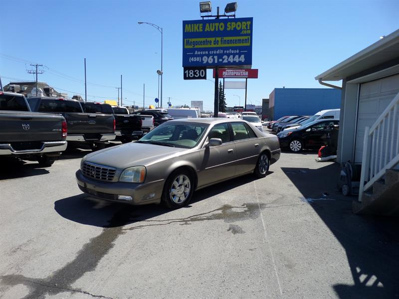 Cadillac DeVille 2004 4dr Sdn DTS