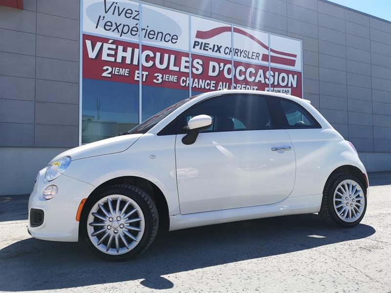 Fiat 500 2016 2dr HB Sport MAGS CUIR #UD5229