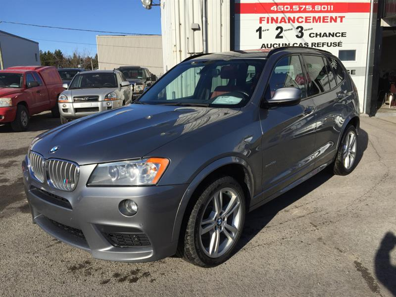 BMW X3 2012  35i M-PERFORMANCE
