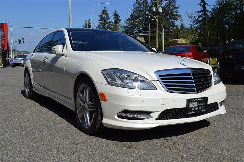 2013 Mercedes-Benz S-Class  S550 4MATIC LWB *LOCAL / NEW BRAKES*    #CWL8451M