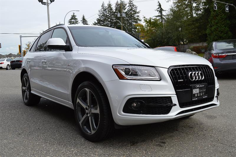 2015 Audi Q5 Quattro 2.0T Technik S-LINE *LOCAL / ZERO ACCDENTS #CWL8777M