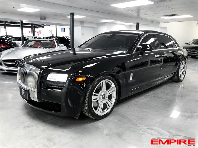 Rolls-Royce Ghost 2012 EWB LONG V12 6.6L #AX65521