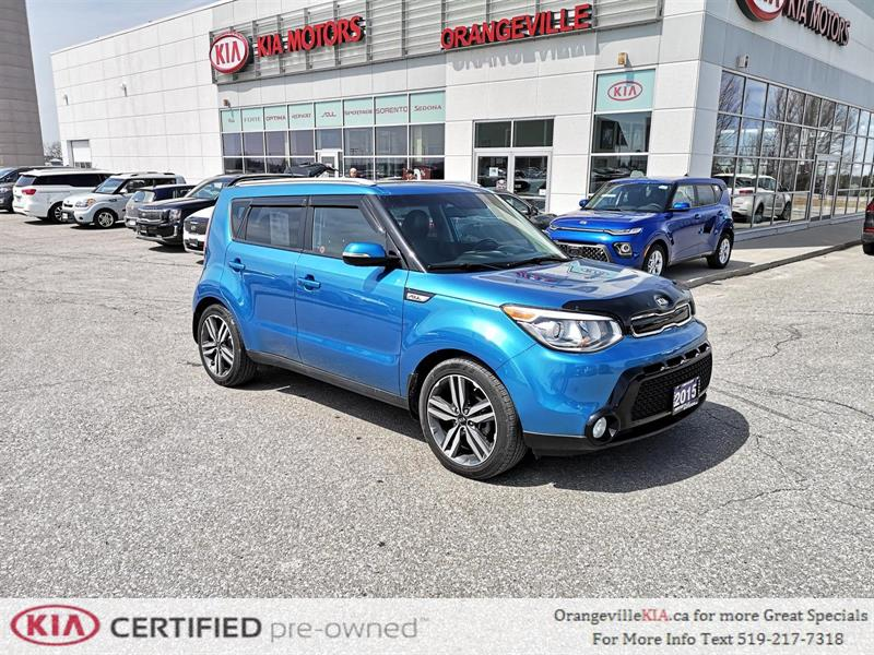 2015 Kia Soul SX Auto - Sunroof, Trade-in #87050A